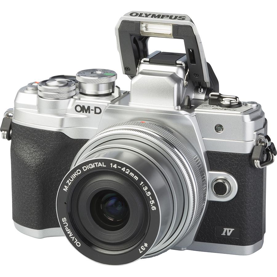 Olympus OM-D E-M10 Mark IV + M. Zuiko Digital 14-42 mm EZ ED MSC - Vue principale