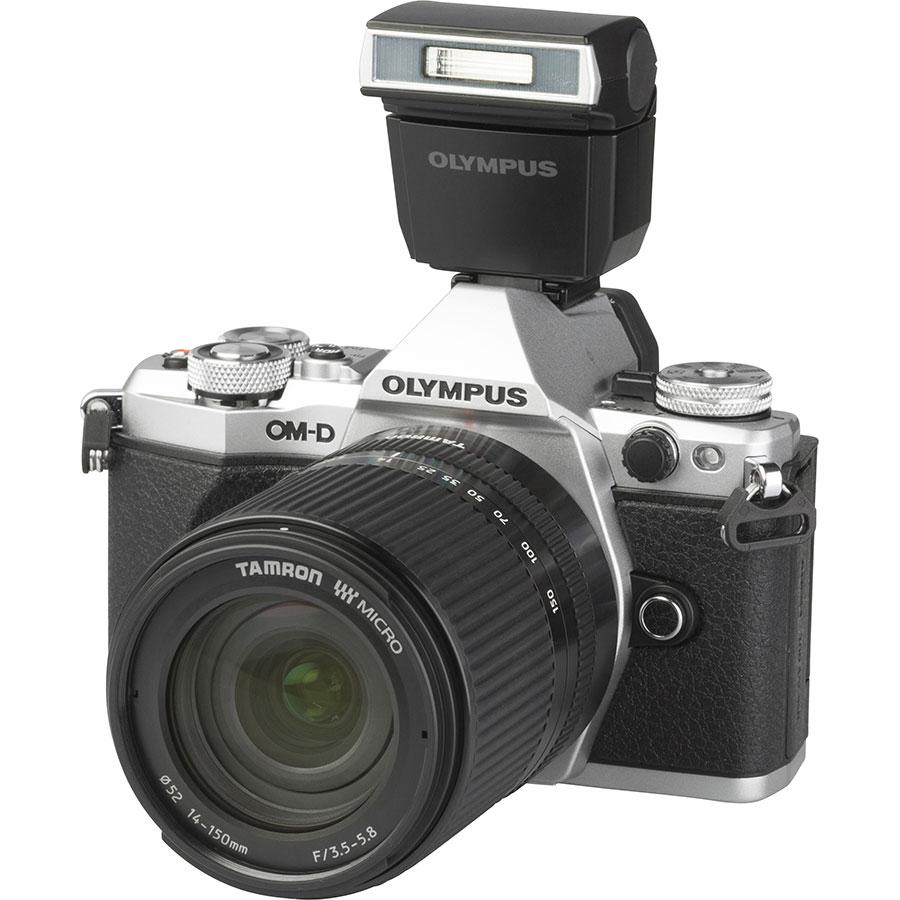 Olympus OM-D E-M5 Mark II + Tamron 14-150 mm Di III - Vue principale