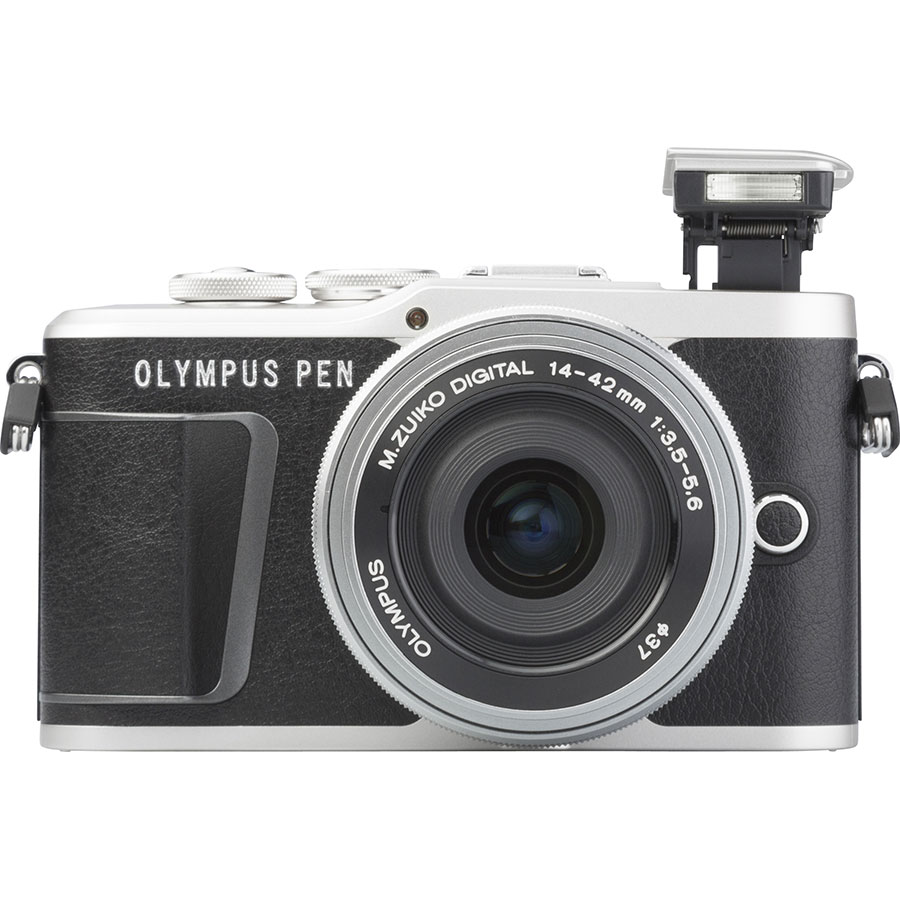 Olympus Pen E-PL9 + M. Zuiko Digital ED 14‑42 mm - Vue de face