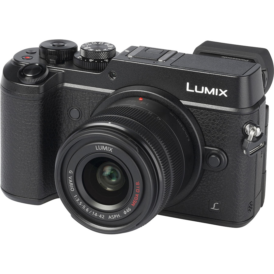 Panasonic Lumix DMC-GX8 + Lumix G Vario 14-42 mm II OIS - Vue principale