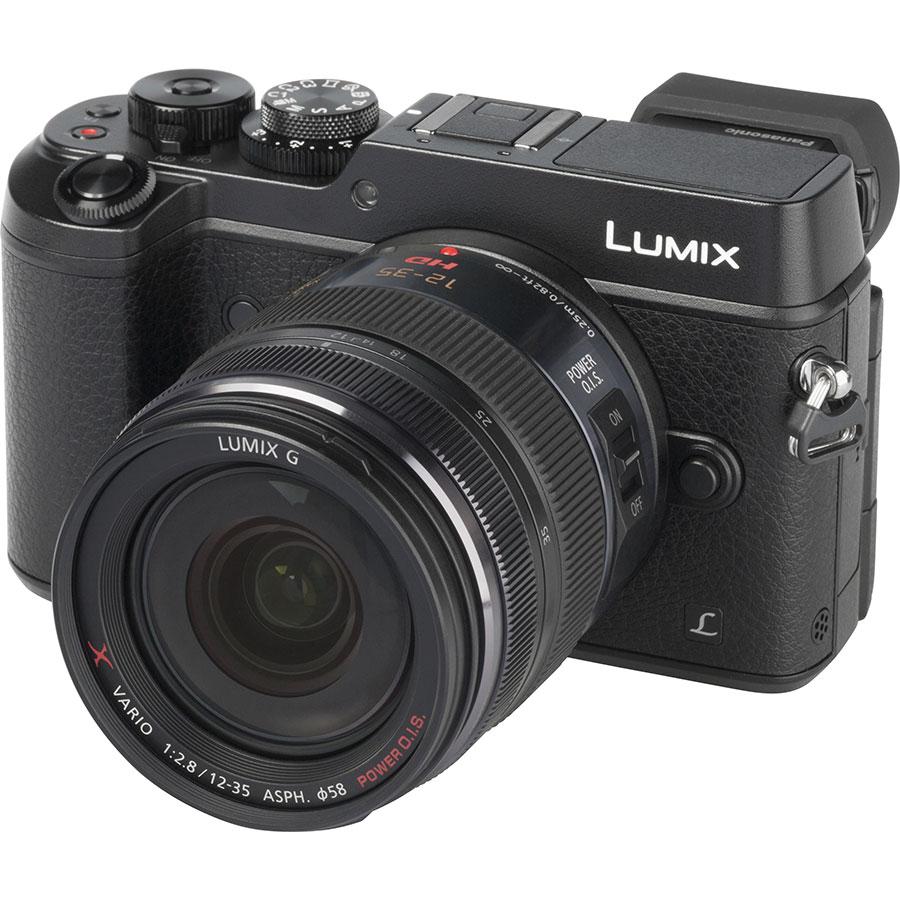 Panasonic Lumix DMC-GX8 + Lumix G X Vario 12-35 mm OIS - Vue principale