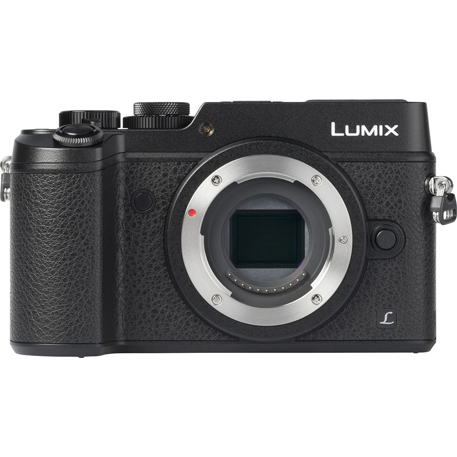 Panasonic Lumix DMC-GX8 + Lumix G X Vario 12-35 mm OIS - Vue de face
