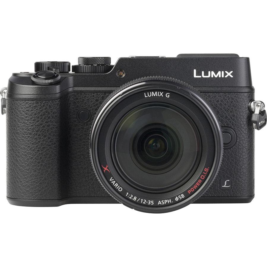 Panasonic Lumix DMC-GX8 + Lumix G X Vario 12-35 mm OIS - Vue du dessus