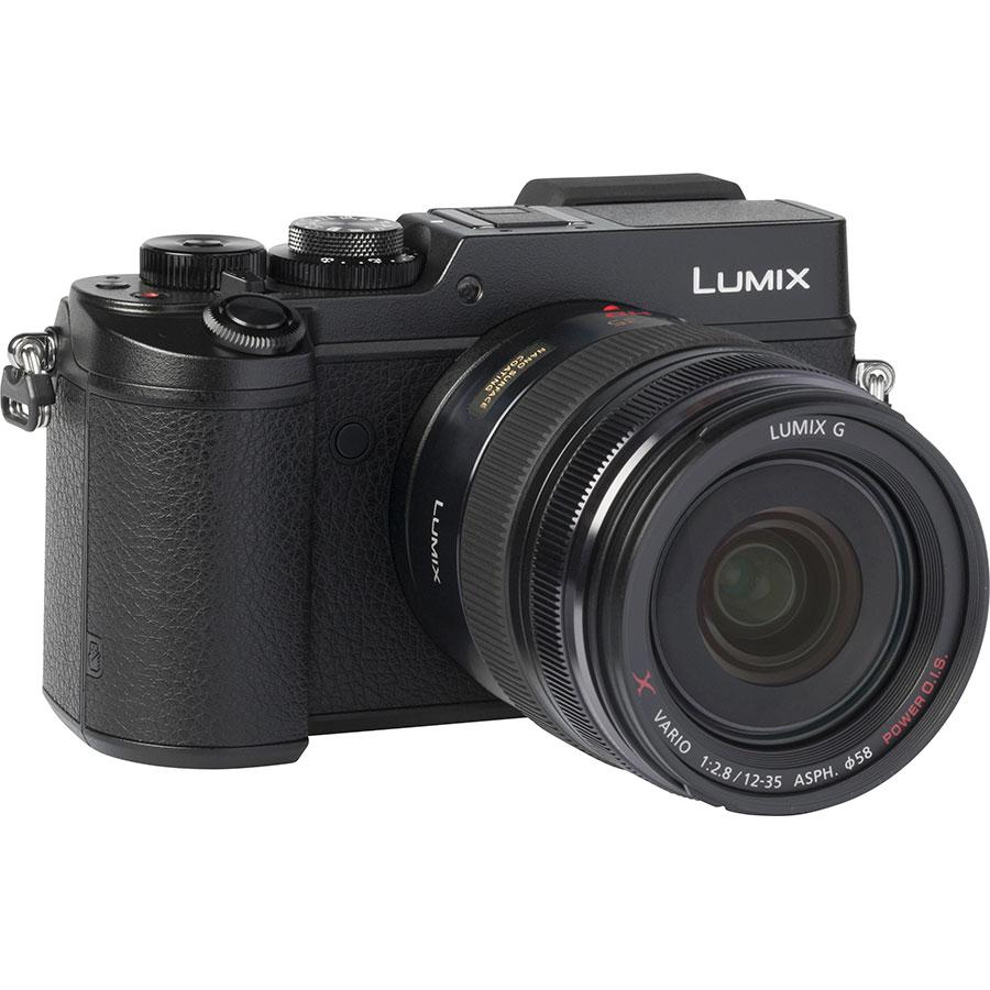 Panasonic Lumix DMC-GX8 + Lumix G X Vario 12-35 mm OIS - Vue de dos
