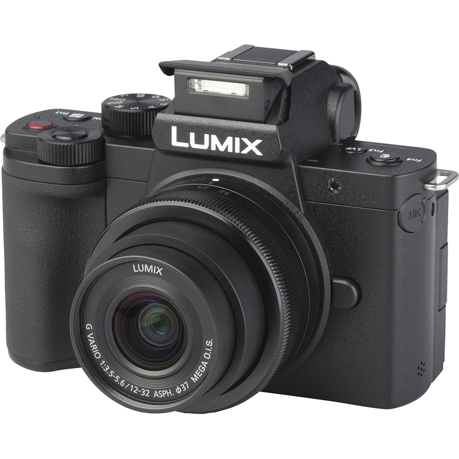 Panasonic Lumix DC-G100 + Lumix G Vario 12-32 mm Mega OIS - Vue principale