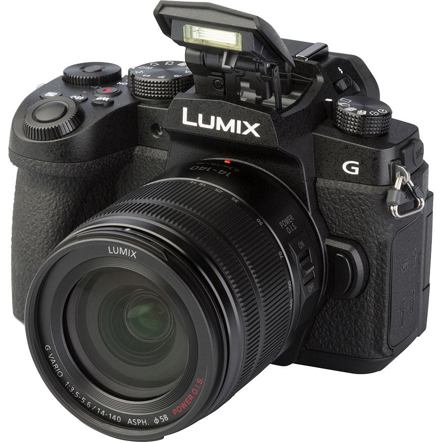 Panasonic Lumix DC-G90 + Lumix G Vario 14-140 mm Power OIS - Vue principale