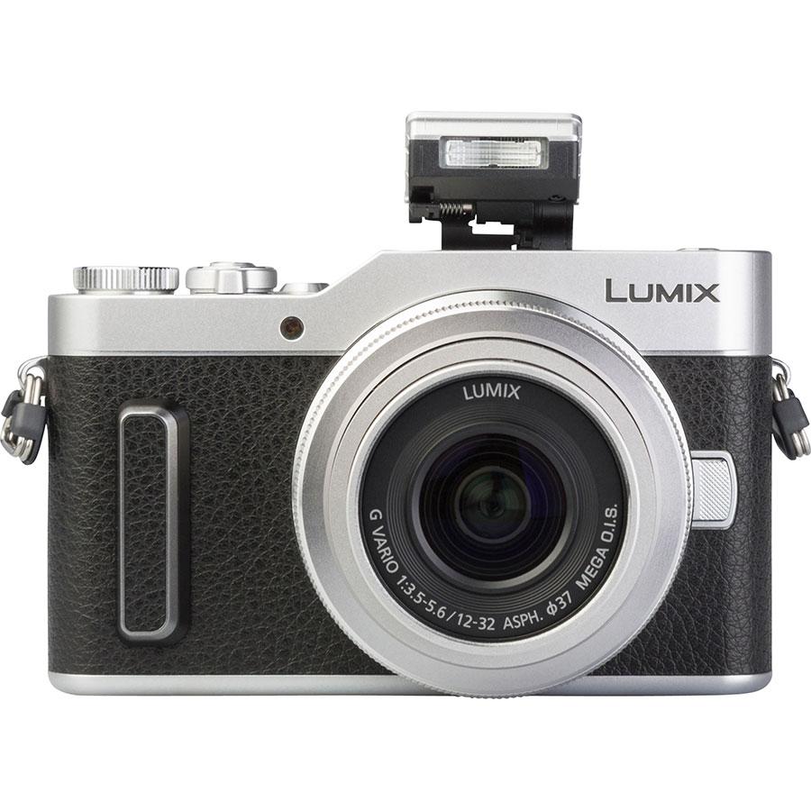 Panasonic Lumix DC-GX880 + Lumix G Vario 12-32 mm Mega OIS - Vue de face