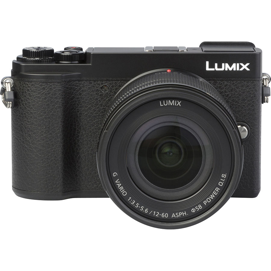 Panasonic Lumix DC-GX9 + Lumix G Vario 12-60 mm Power OIS - Autre vue de face