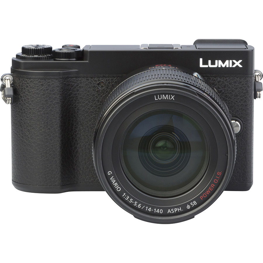 Panasonic Lumix DC-GX9 + Lumix G Vario 14-140 mm Power OIS - Autre vue de face