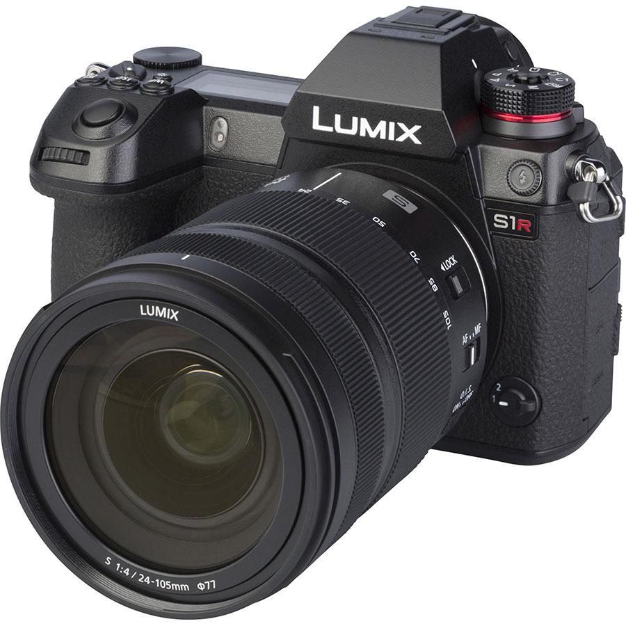 Panasonic Lumix DC-S1R + Lumix S 24-105 mm Macro OIS - Vue principale