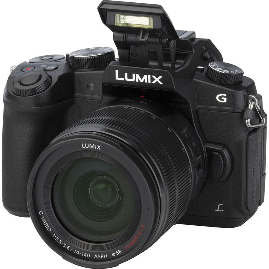 Panasonic Lumix DMC-G80 + Lumix G Vario 14-140 mm Power OIS - Vue principale