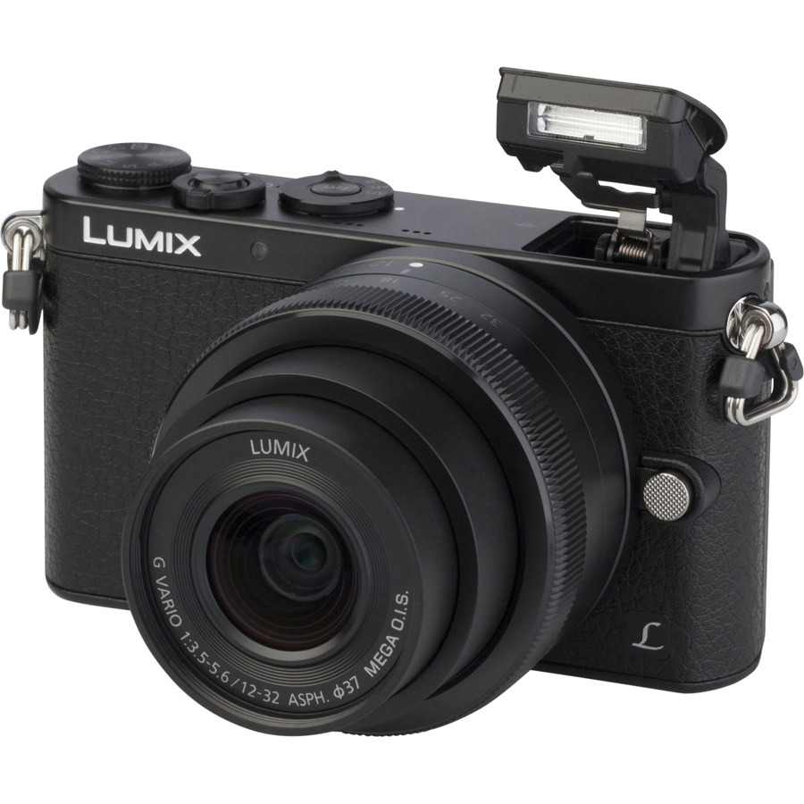 Panasonic Lumix DMC-GM1 + Lumix G Vario 12-32 mm - Vue principale
