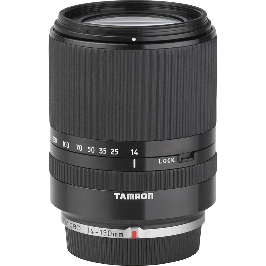 Panasonic Lumix DMC-GX8 + Tamron 14-150 mm Di III - Vue de l'objectif