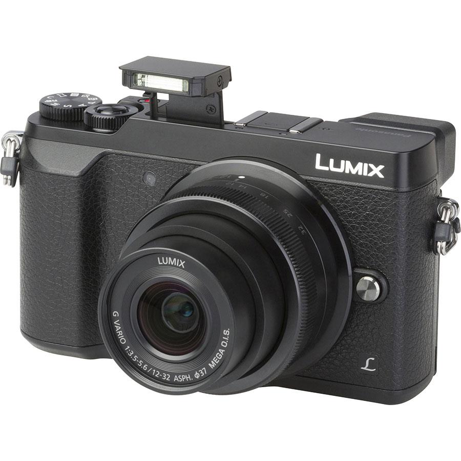 Panasonic Lumix DMC-GX80 + Lumix G Vario 12-32 mm Mega OIS - Vue principale