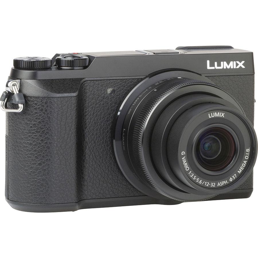 Panasonic Lumix DMC-GX80 + Lumix G Vario 12-32 mm Mega OIS - Vue de l'objectif