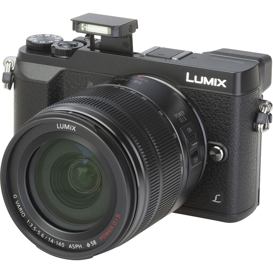 Panasonic Lumix DMC-GX80 + Lumix G Vario 14-140 mm Power OIS - Vue principale