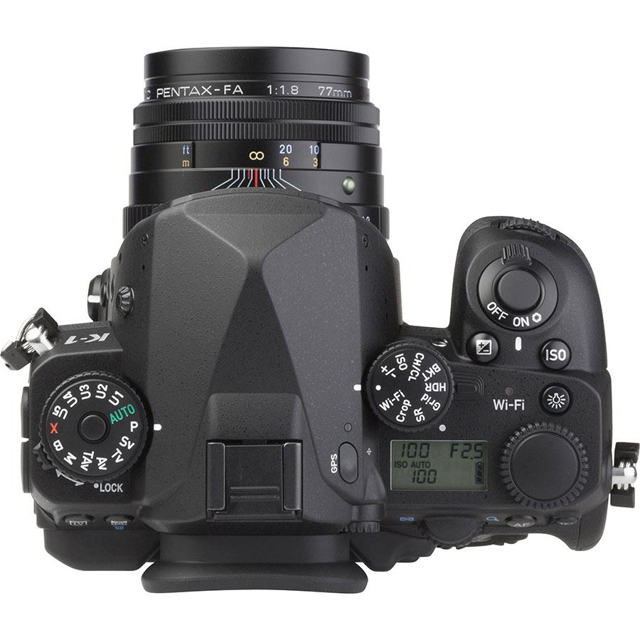 Pentax K-1 + SMC FA 77 mm Limited - Vue du dessus