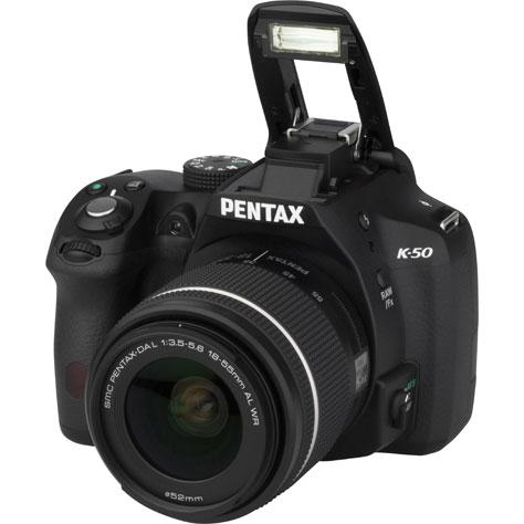 Pentax K-50 + SMC-DA L 18-55 AL WR - Vue principale