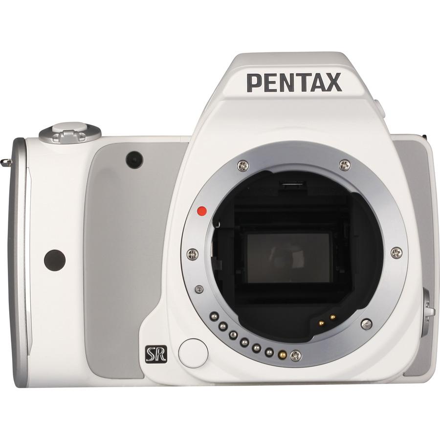 Pentax K-S1 + SMC-DA L 18-55 mm AL - Vue de face sans objectif