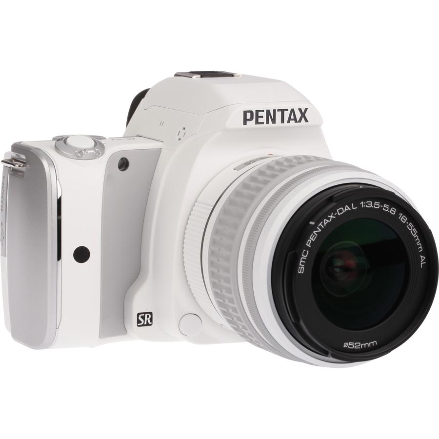 Pentax K-S1 + SMC-DA L 18-55 mm AL - Vue de 3/4 vers la droite