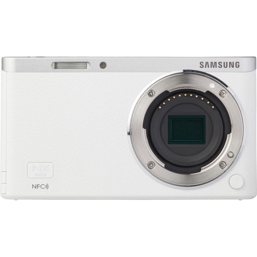 Samsung NX Mini + NX-M 9-27 mm ED OIS - Vue de face sans objectif