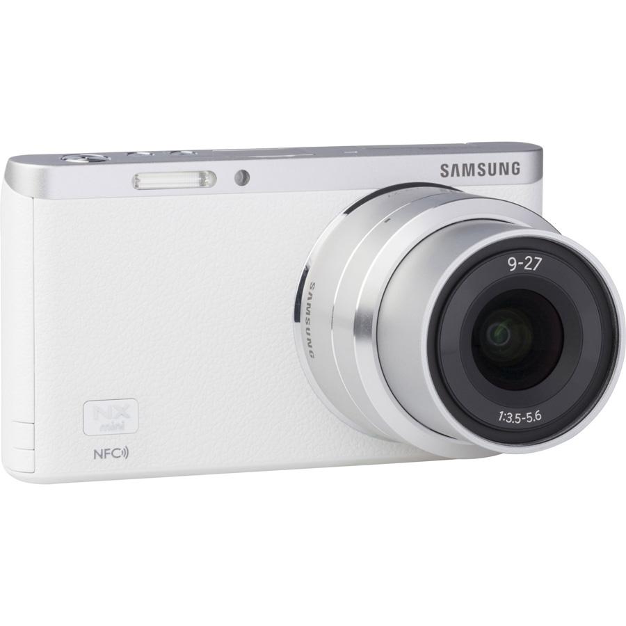 Samsung NX Mini + NX-M 9-27 mm ED OIS - Vue de l'objectif