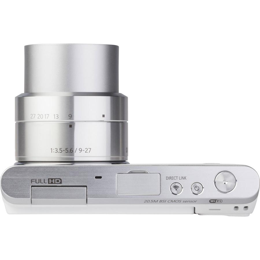 Samsung NX Mini + NX-M 9-27 mm ED OIS - Vue du dessus