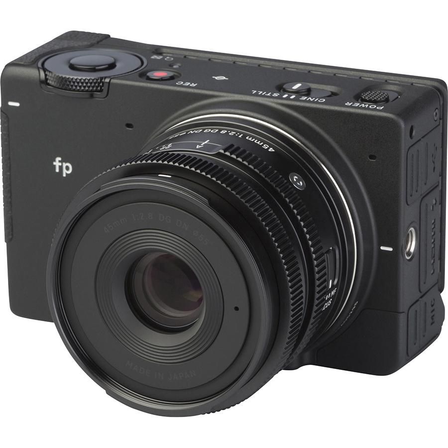 Sigma FP + DG DN 45 mm - Vue principale