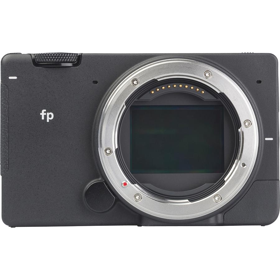 Sigma FP + DG DN 45 mm - Vue de face sans objectif