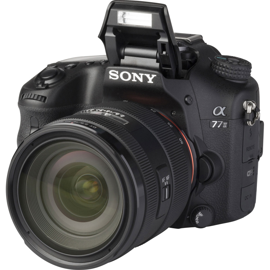 Sony ILCA-77M2 + 16-50 mm SSM SAL1650 - Vue principale