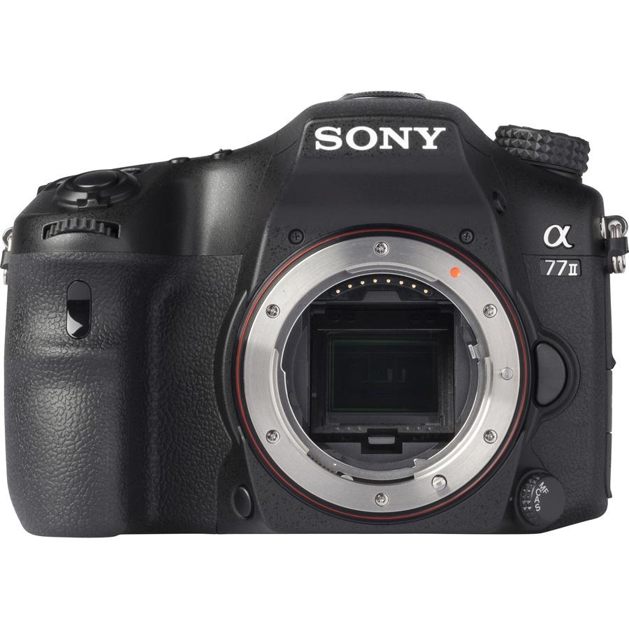 Sony ILCA-77M2 + 16-50 mm SSM SAL1650 - Vue de l'objectif