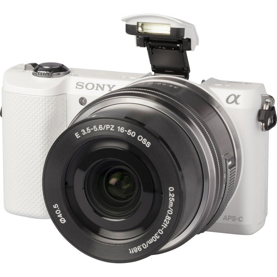 Sony ILCE-5000 + 16-50 mm SELP1650 - Vue principale