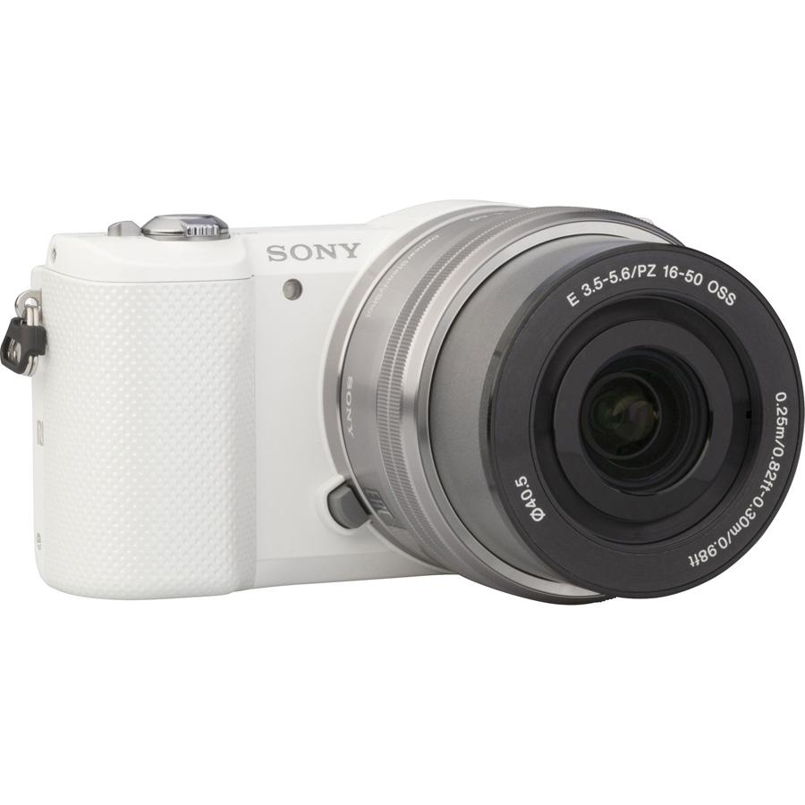 Sony ILCE-5000 + 16-50 mm SELP1650 - Vue de dos