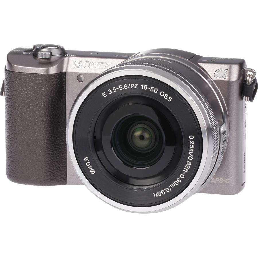 Sony ILCE-5100 + 16-50 mm SELP1650 - Vue principale