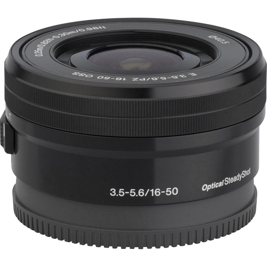 Sony ILCE-6000 + 16-50 mm SELP1650 - Vue de face sans objectif
