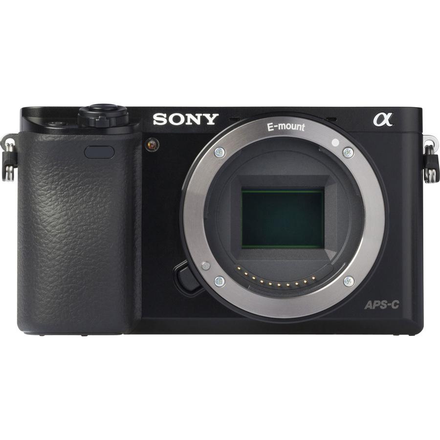 Sony ILCE-6000 + 16-50 mm SELP1650 - Vue de dos