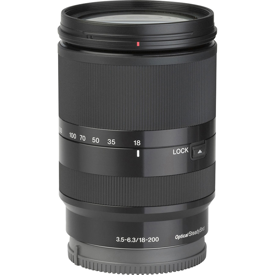 Sony ILCE-6000 + 18-200 mm SEL18200 - Vue de dos