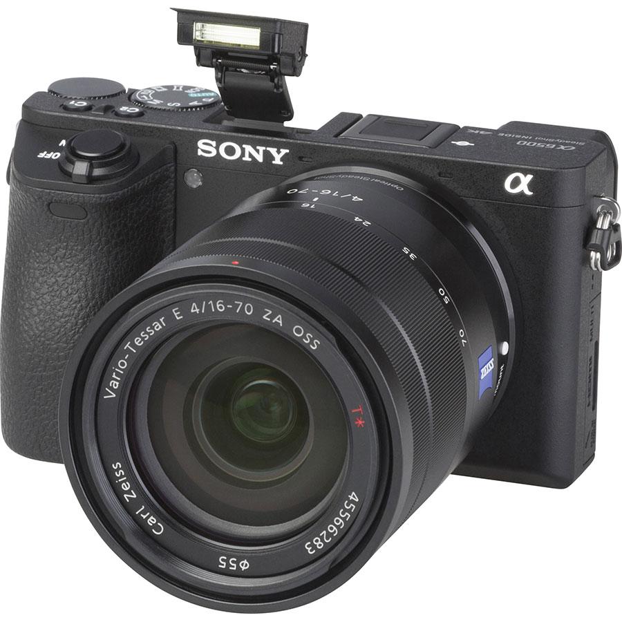 Sony ILCE-6500 + E 16-70 mm ZA OSS SEL1670Z - Vue principale