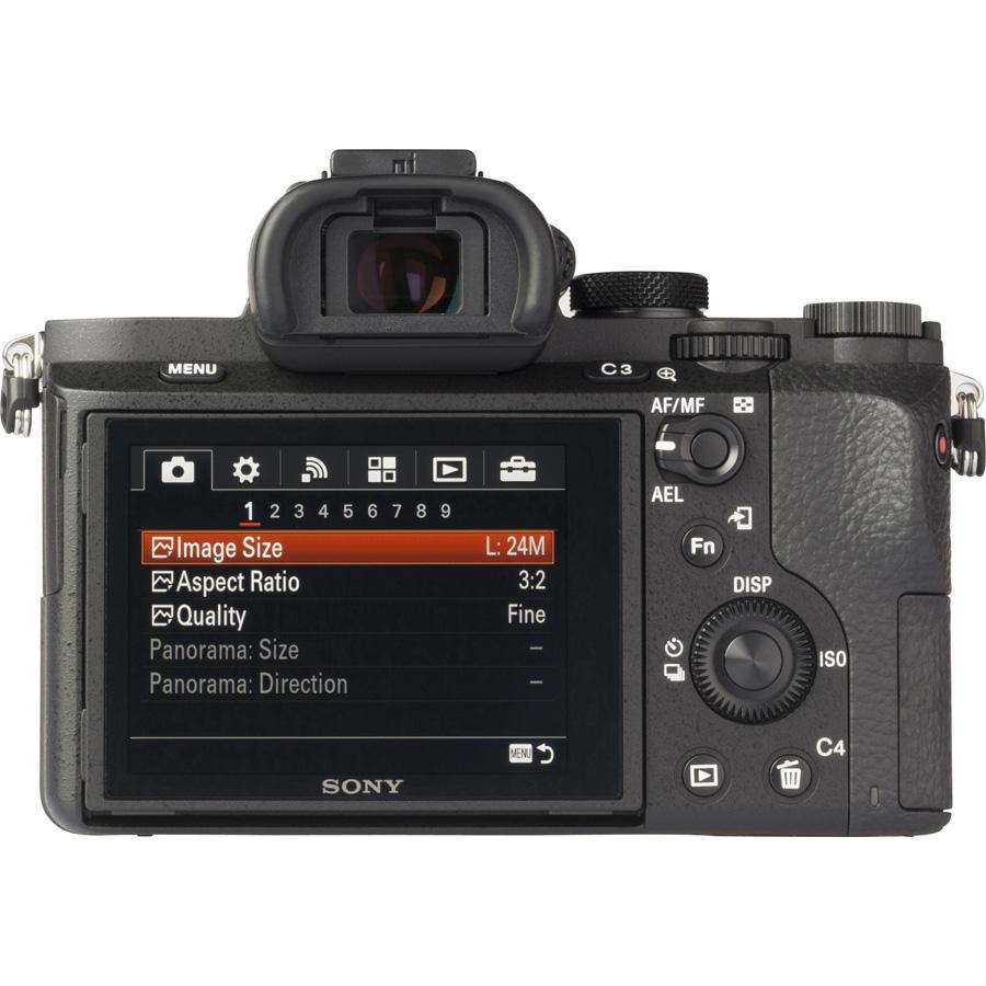 Sony ILCE-7M2 + 28-70 mm OSS SEL2870 - Vue de dos