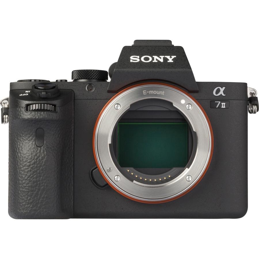 Sony ILCE-7M2 + 28-70 mm OSS SEL2870 - Vue de face sans objectif