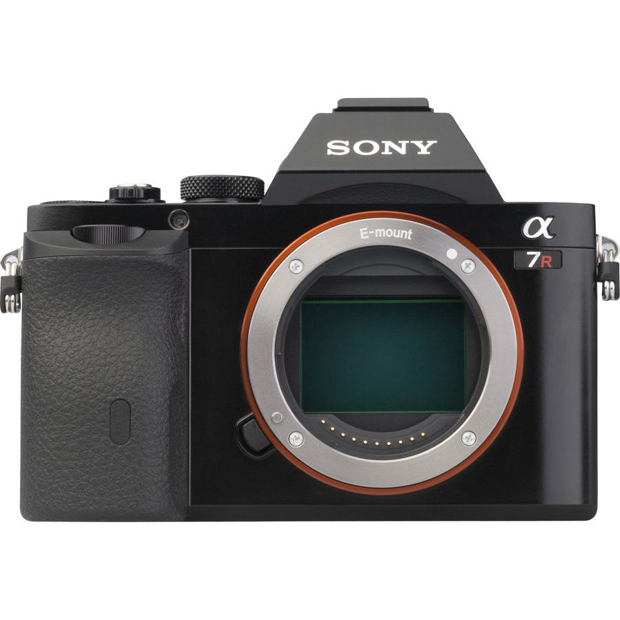 Sony ILCE-7R + 24-70 mm SEL2470Z - Vue de l'objectif