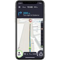 Coyote System Alertes, GPS & Trafic - Exemple de navigation