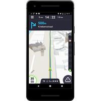 Coyote System Alertes, navigation GPS & Trafic - Exemple de navigation
