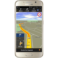 Garmin Navigon Europe - Exemple de navigation