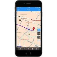 ViaMichelin GPS, Traffic, Speedcam, Route Planner - Exemple de navigation