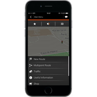 NNG Software iGo Navigation - Menu principal