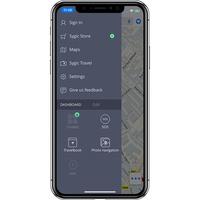 Sygic Navigation GPS & Cartes - Menu principal