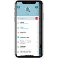 Waze Navigation Waze & Trafic Live - Menu principal