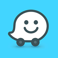 Waze Navigation Waze & Trafic Live - Logo de l'appli