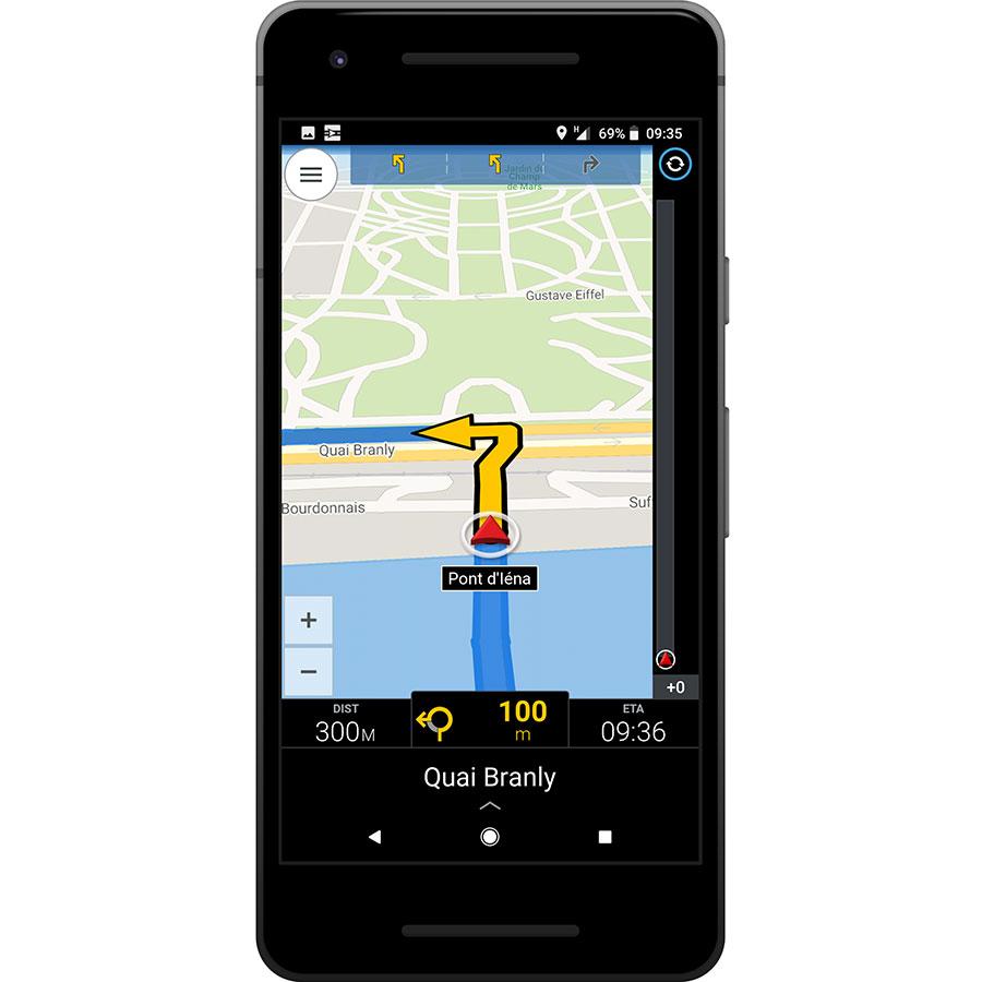 ALK CoPilot Europe Offline Sat-Nav - Exemple de navigation